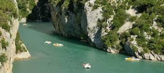 Les Gorges du Verdon, pour les férus des activités nautiques